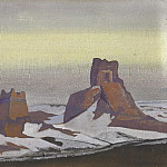 Chinese fortress ruins. Yarkand, Roerich N.K. (Part 3)