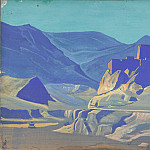 Mountain landscape, Roerich N.K. (Part 3)
