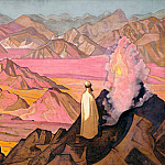 Mohammed on Mount Hira # 5, Roerich N.K. (Part 3)