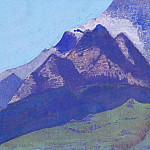 Mountain sketch , Roerich N.K. (Part 3)