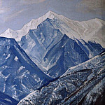 White Himalayas # 27, Roerich N.K. (Part 3)
