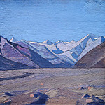 C Kourula on Karakorum chain, Roerich N.K. (Part 3)