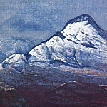 Himalayas in winter # 26 , Roerich N.K. (Part 3)