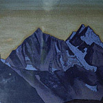 Evening. Himalaya , Roerich N.K. (Part 3)