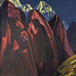 Roerich N.K. (Part 3) - His Shadow # 36 (Shadow of the Teacher. Tibet)