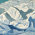 Snow lift # 76, Roerich N.K. (Part 3)