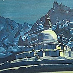 Crossroads paths Christ and Buddha # 40, Roerich N.K. (Part 3)