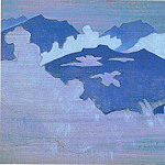 Monsoon fogs] # 77 , Roerich N.K. (Part 3)