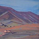 Landscape sheet, Roerich N.K. (Part 3)