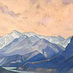Chandra River # 8, Roerich N.K. (Part 3)