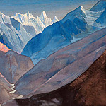 M Mountain # 64 . , Roerich N.K. (Part 3)