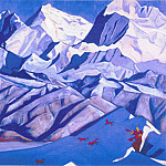 Red horses , Roerich N.K. (Part 3)