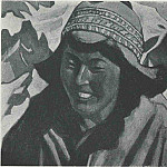 Tibetan women, Roerich N.K. (Part 3)