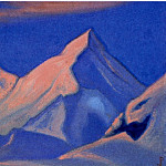 Rocks at sunset, Roerich N.K. (Part 3)