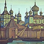 Solovetskiy convent # 4, Roerich N.K. (Part 3)