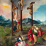 Christ on the Cross, Albrecht Altdorfer