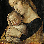 Andrea Mantegna – The Virgin with the Sleeping Child, Part 1