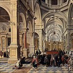 Bartholomeus van Bassen – Interior of a Church, Part 1