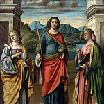 Part 1 - Giovanni Batista Cima (c.1459-1517-18) - The St. Lucia, Mary Magdalene and Catherine