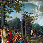 Albrecht Altdorfer – Apostles in a wooded landscape, Part 1