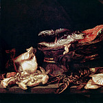 Part 1 - Abraham van Beyeren (1620-21-1690) - Still Life with Fish