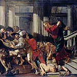 Cecco del Caravaggio – Christ Driving the Moneylenders out of the Temple, Part 1