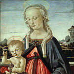 Part 1 - Andrea del Verrocchio (1436-1488) - The Virgin and Child