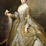 Part 1 - Antoine Pesne (1683-1757) - Louisa Ulrica, Princess of Prussia