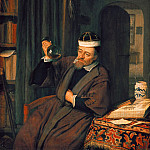 The doctor in his study, Adriaen Van Ostade