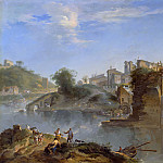 Part 1 - Andrea Locatelli (1695-1741) - The Ponte Rotto, Rome