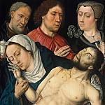 Aelbrecht Bouts – The Lamentation of Christ, Part 1