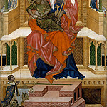 Part 1 - Bohemian Master - Mary Enthroned with the Child