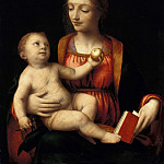 Bernardino Luini – The Virgin and Child and the apple, Part 1