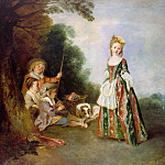 Antoine Watteau – The Dance, Part 1