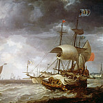 Part 1 - Bonaventura Peeters I (1614-1652) - Warships on a choppy sea