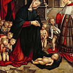 Part 1 - Defendente Ferrari (1490-1535) - The Adoration of the Child with a Donor