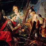 Christian Bernhard Rode – Allegory of Frederick the Great, the founder of the German princes Federal, Part 1