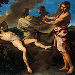 The Drunkenness of Noah, Andrea Sacchi