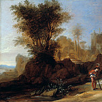 Part 1 - Bartholomeus Breenbergh (1599-1657) - Landscape with Cimon and Iphigenia