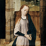 Part 1 - Dierick Bouts (c.1415-1475) - Mary in Adoration