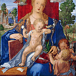 Part 1 - Albrecht Durer (1471-1528) - The Madonna with the Siskin