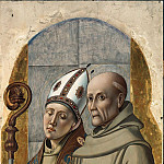 Alvise Vivarini – The St. Bernardinus of Siena and St. Bonaventure, Part 1