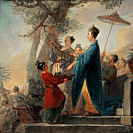 Part 1 - Christian Bernhard Rode (1725-1797) - The Empress of China while picking mulberry leaves