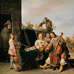David Teniers II – The painter and his family, Part 1