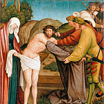 Part 1 - Bernhard Strigel (1460-61-1528) - The Disrobing of Christ