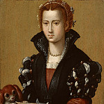 Part 1 - Alessandro Allori (1535-1607) - Portrait of Eleonora de Toledo