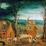 Part 1 - Cornelis Massys (1513-1579) - The arrival of the Holy Family in Bethlehem