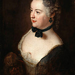Part 1 - Antoine Pesne (1683-1757) - Portrait of a young woman