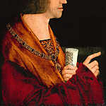 Part 1 - Bernhard Strigel (1460-61-1528) - Emperor Maximilian I with a scroll