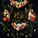 Part 1 - Daniel Seghers (1590-1661) and Erasmus Quellinus (1607-1678) - Garland of Flowers with Mary, Christ and John the Baptist